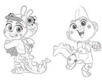 Characters for Animar Studio