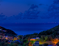 Pre Dawn HDR Sunrise