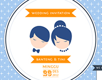 B-T Wedding Invitation