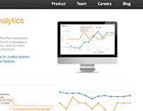 City Trader website design