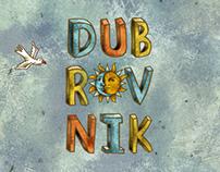 Dubrovnik. Illustration for LING Magazine.