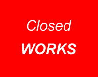 Works closed for public exhibition