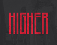 Higher - Free Font