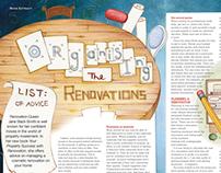 Organising the renovations