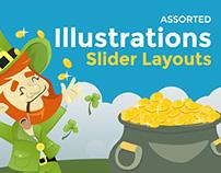 Assorted Slider Layout