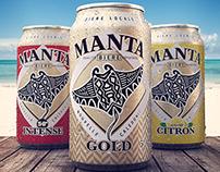 Manta Beer Can