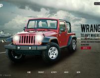 Jeep Wrangler Microsite