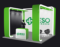 Exhibition stand for Reso Insurance