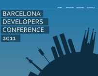 Barcelona Developers Conference Teaser and Logo