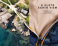 A CLOTH EARTH VIEW