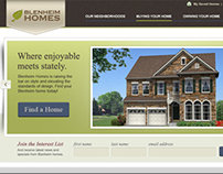 Blenheim Homes Website