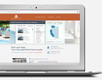Braddock & Logan Apartment Website