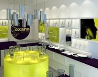 Oxana Silver Lifestyle Company Identity