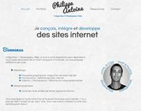 My personal website