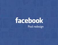 Facebook Post re-design #Updated