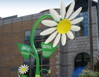 Installation: 3rd Generation Prius Solar Flowers