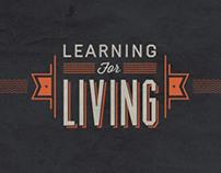 Learning For Living Brand + Website