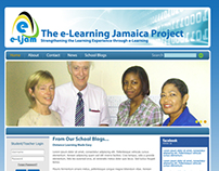 E-Learning Jamaica Project Website Design