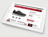 Rizzato Calzature - ecommerce web design