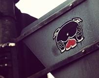 topbtm - the sticker series