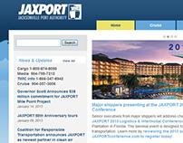 JAXPORT.com Website Redesign