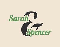 Spencer & Sarah's Wedding Invites