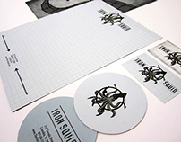 Iron Squid Restaurant Branding