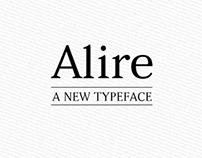 Alire – A Typeface