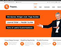 Topaz - Responsive Multi-Purpose Theme