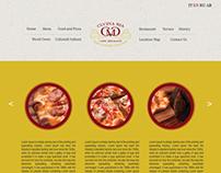 Cucina Mia Website