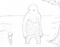 """""""GOLEM"""" animation"""