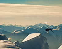 Crescent Spur Heli-Skiing Brand