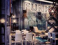 FUNK RESTAURANT Interior