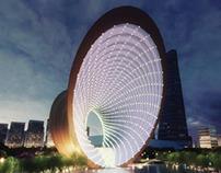 Monument/Bridge Competition, Nanjing, China