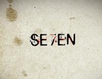 SE7EN [Kinetic Typography]