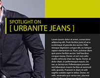 Urbanite Magazine Spread Concept