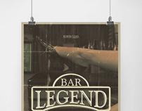 Legend Bar Poster