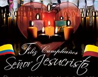 Cumpleaños Señor Jesucristo - Ibague año 2012