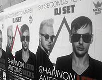 30 Seconds to Mars DJSET - Mupi / Poster / Calendar