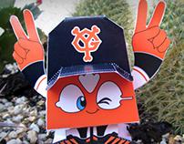 Paper Toy HelloCoy! Tokyo Giants