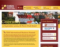 CISX International Business Summit | Web Design