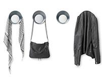 Ready Wall Hook & Mirror | NORMANN COPENHAGEN