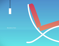 Chairs animation - Ludwig Mies van der Rohe