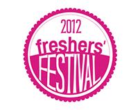Huddersfield Freshers 2012