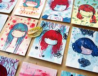 100 Little Paintings