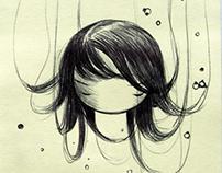 Post-it Note Drawings