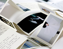Folio for fashion designer Ying Gao