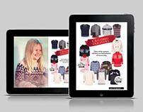 A+A Interactive Holiday Lookbook   Digital Publishing