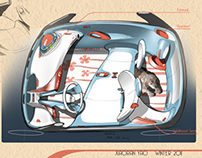 Citroen Micro Car Concept for Young Females
