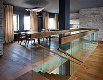 Two level apartment. Minsk. Interior by Alexey Daineko